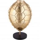 Metal sculpture turtle, L32cm, W32cm, H50cm, gold